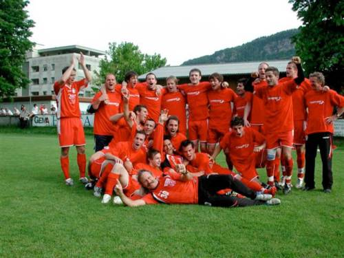 2008 Aufstieg 1. Mannschaft